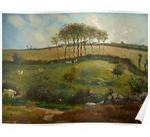 Pasture near Cherbourg (Normandy), 1871-2 Poster