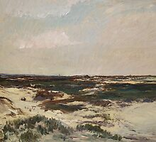The Dunes at Camiers, 1871  by Bridgeman Art Library