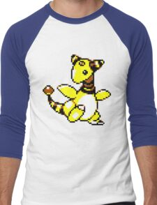 Ampharos Retro Men's Baseball ¾ T-Shirt