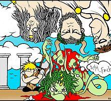 Behead The Gorgon by RomanHelmet