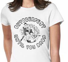Oktoberfest Polka Womens Fitted T-Shirt