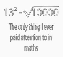 The Equation Kids Tee