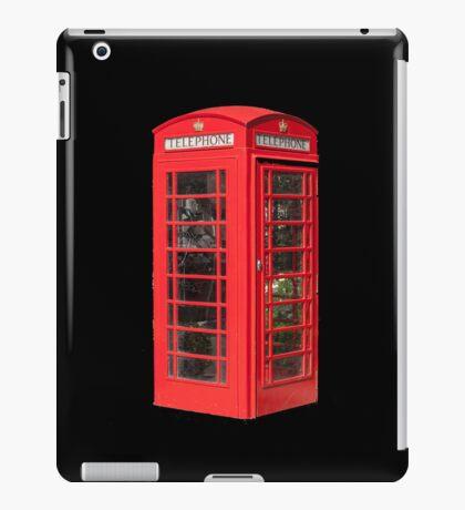 Red Telephone Box iPad iPad Case/Skin