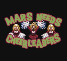 MARS NEEDS CHEERLEADERS by vgjunk