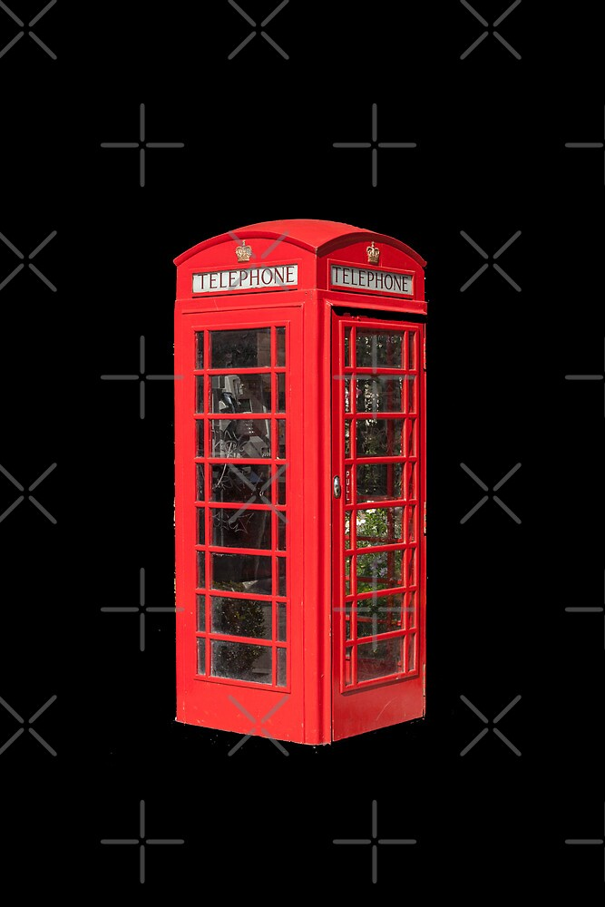 Red Telephone Box by Catherine Hamilton-Veal  ©
