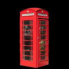 Red Telephone Box by Catherine Hamilton-Veal  