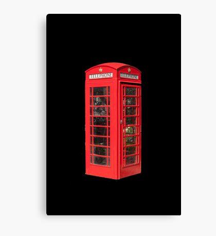 Red Telephone Box Canvas Print