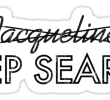 Deep Search  Sticker