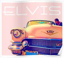 Elvis Presley Pink Cadillac Poster
