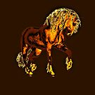 Golden Palomino'... by Valerie Anne Kelly