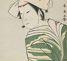 Nakamura Noshio II as Tonase, 1795 by Bridgeman Art Library