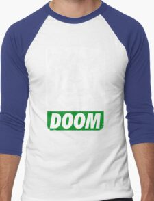 Obey DOOM Men's Baseball ¾ T-Shirt