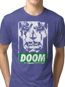 Obey DOOM Tri-blend T-Shirt