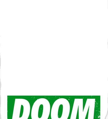 Obey DOOM Sticker