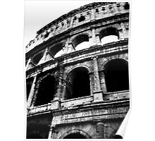 View of the Colosseum of Rome Poster