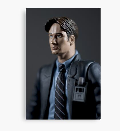 Special Agent Fox Mulder Canvas Print