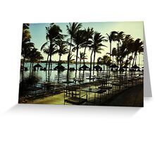 Tropical Flavor 4 Greeting Card