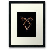 Mortal Instruments Angelic Power Rune Framed Print
