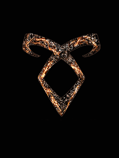 Mortal Instruments Angelic Power Rune by Ellen Kapelle