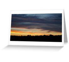 Sunset 2  Greeting Card
