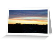Sunset 4 Greeting Card