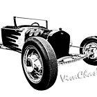 Model-T Rat Rod Sketch by ChasSinklier