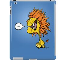 Use Your Inside Voice iPad Case/Skin
