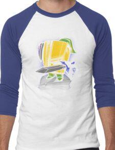 8-Bit Hero Men's Baseball ¾ T-Shirt