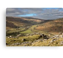 Hubberholme In Upper Wharfedale Canvas Print