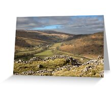 Hubberholme In Upper Wharfedale Greeting Card