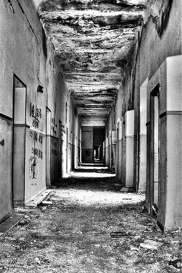 Hospital corridor by marcopuch