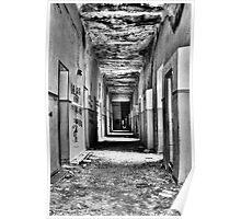 Hospital corridor Poster