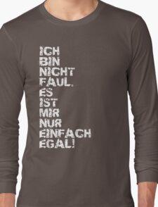 Faul Long Sleeve T-Shirt