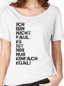 Faul Women's Relaxed Fit T-Shirt