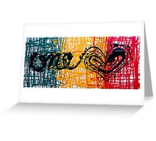 One Heart Greeting Card