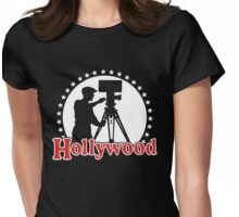 Hollywood logo - 1979 Womens Fitted T-Shirt