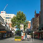Rundle Mall - From Pulteney Street Intersection by DPalmer