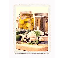 Canning Kitchen Art Photographic Print