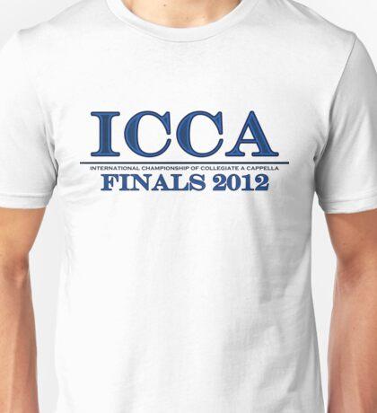 The International Championship of Collegiate A Cappella Unisex T-Shirt