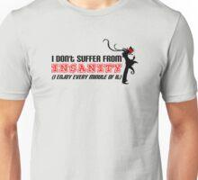 Insanity Shirt / Sticker Unisex T-Shirt