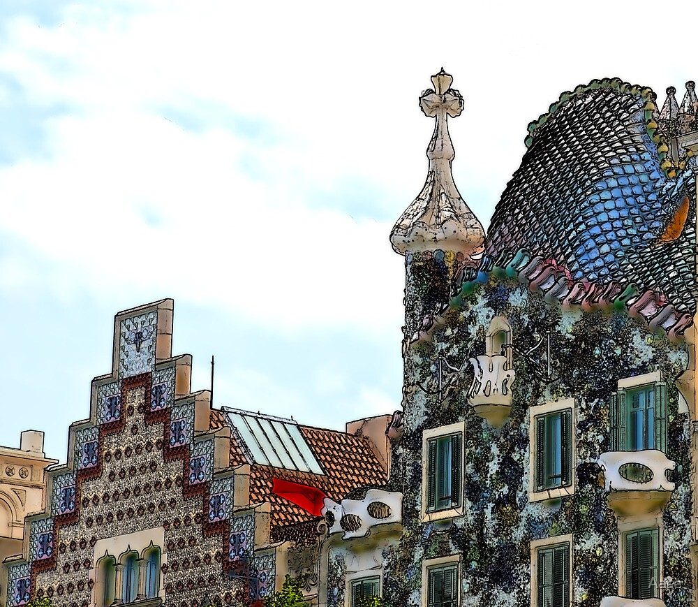 Gaudi by Aase