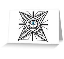 The All Seeing Eye Greeting Card