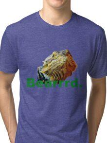 Bearded Dragon Says Tri-blend T-Shirt
