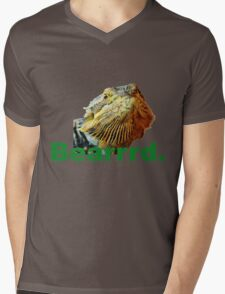 Bearded Dragon Says Mens V-Neck T-Shirt