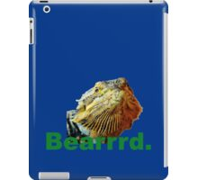 Bearded Dragon Says iPad Case/Skin