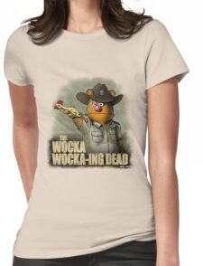 The Wocka Wocka-ing Dead Womens Fitted T-Shirt