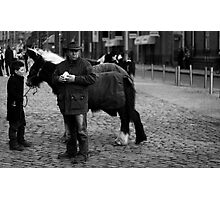 Horse Traders Photographic Print
