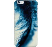 fall in blue iPhone Case/Skin