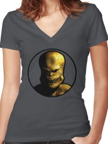 Arch-Vile 3D (Version 2) Women's Fitted V-Neck T-Shirt