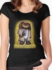 The Big Bowwowski Women's Fitted Scoop T-Shirt